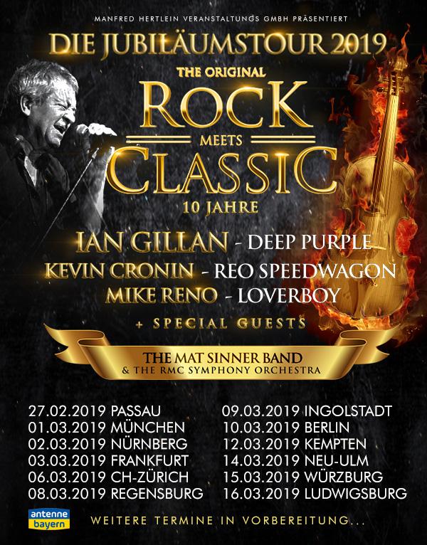 Rock Meets Classic Jubiläumstour 2019